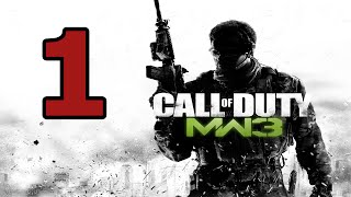Call of Duty: Modern Warfare 3 Walkthrough Part 1 - No Commentary Playthrough (PC)