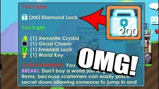 Growtopia - BUY BREAK+i FOR OVERPAY + BUILD THE WORLD!!!