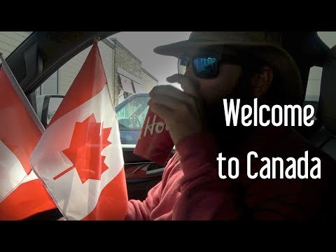 18 We made it to Canada, Tim Hortons, Canadian Tire The Boat Life travel Vloggers