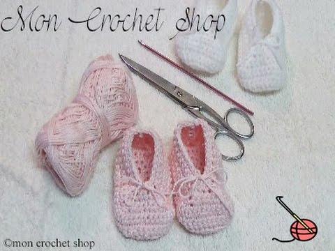 chaussons au crochet pour debutant