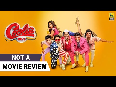 Coolie No. 1 | Not A Movie Review by Sucharita Tyagi | Varun Dhawan, Sara Ali Khan | Film Companion