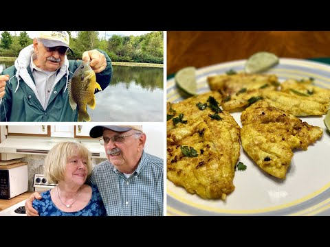 Bluegill Fishing For Spicy Indian Fare (it's Low Carb With Real Flare)