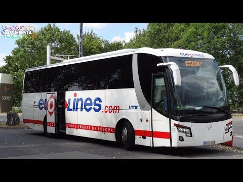BUS TRIP TO BARCELONA - EUROLINES - FROM HOLLAND TO SPAIN - SUMMER HOLIDAY 2017