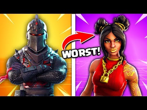 Top 8 TIER 100 Fortnite Skins RANKED WORST TO BEST!