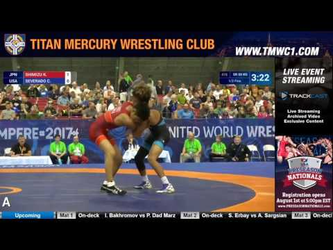 Highlights from Day 1 of Greco-Roman at the Junior World Championships