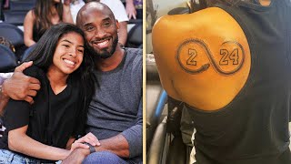 Vanessa Bryant Reacts to Kobe's Sister's Tribute Tattoo