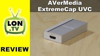 AVerMedia ExtremeCap UVC Review : Turn any HDMI camera / device into a webcam!