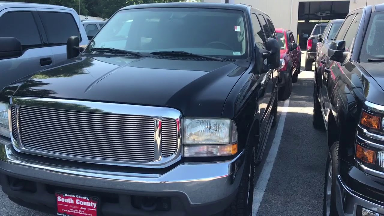 Lovely 2004 Ford Excursion At South County Dodge Chrysler Jeep RAM