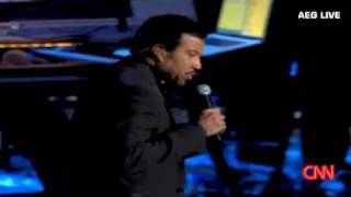 "Michael Jackson Memorial ~ Lionel Richie ~ ""Jesus Is Love"""