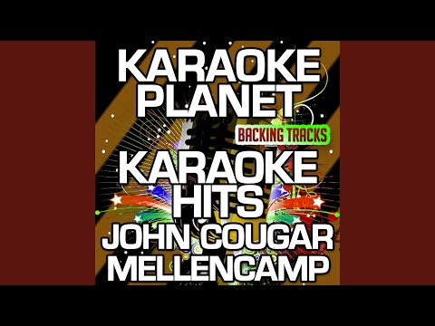 Authority Song (Karaoke Version With Background Vocals) (Originally Performed By John Cougar...