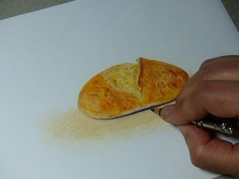 Drawing A Loaf Of Bread Youtube