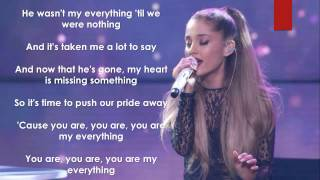 Ariana grande my everything! ariana's new album everything now out go but it on itunes ;) thanks for watching leave a like and subscribe :)
