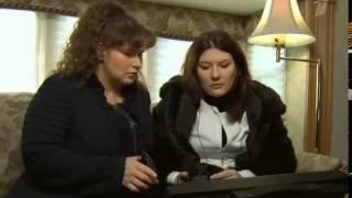 Эмма Райман на  Первом канале Проект ЧЕРНО - БЕЛОЕ 8 серия