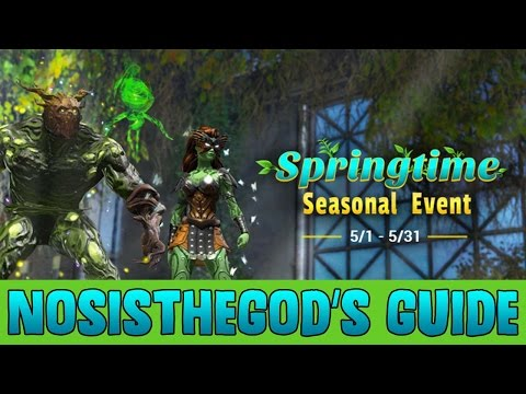 Spring Seasonal Event Walkthrough 2017 - DC Universe Online Guide by NosisTheGod