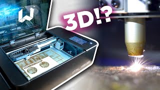 What is a 3D Laser Cutter?  Full Spectrum Muse 3D Review