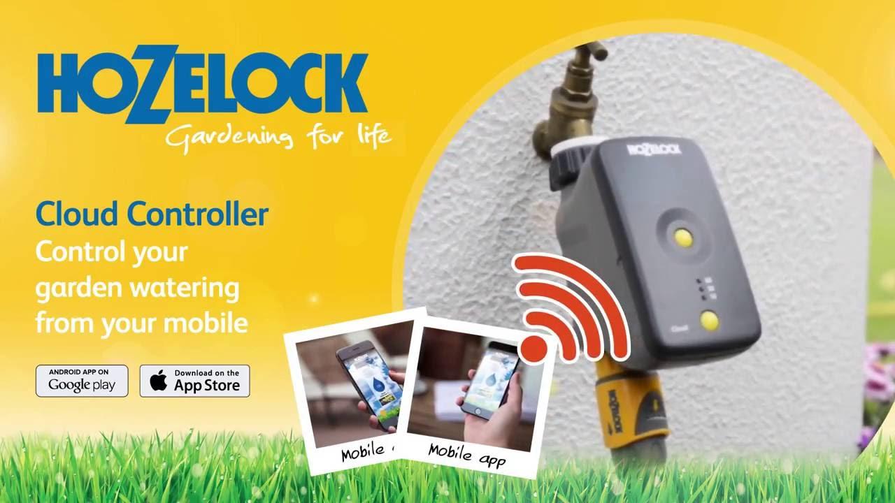 NEW Hozelock Wifi Cloud Controller - 2216  sc 1 st  YouTube & NEW Hozelock Wifi Cloud Controller - 2216 - YouTube