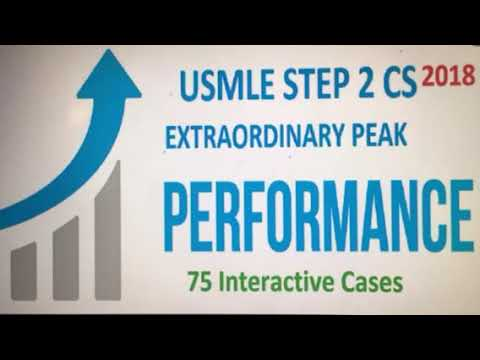 EXTREMELY IMPORTANT USMLE CS2 CASES 2018