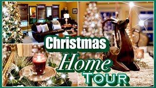 Christmas Home Tour | 25 Days of Christmas Day 19 | Christmas Home Decor and House Tour