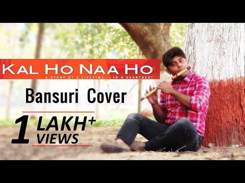 Kal Ho Naa Ho - Title Track - Flute Cover Instrumental - Shahrukh Khan - Divine Bansuri