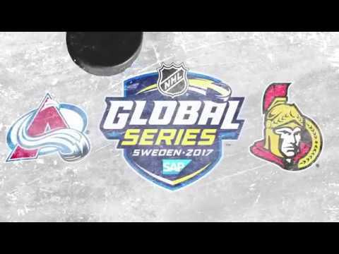Colorado Avalanche VS Ottawa Senators   GLOBAL SERIES GAME 2   November 11th 2017  [HIGHLIGHTS]