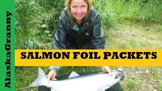 Easy Salmon Foil Packet Recipe