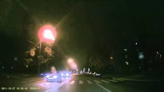 Blackvue DR400G Тест Ночь Рамокнет.ру(Автомобильный Видеорегистратор Blackvue DR400G произведен в Южной Кореи имеет встроенным GPS приемник, видео FULL..., 2011-10-27T17:50:37.000Z)