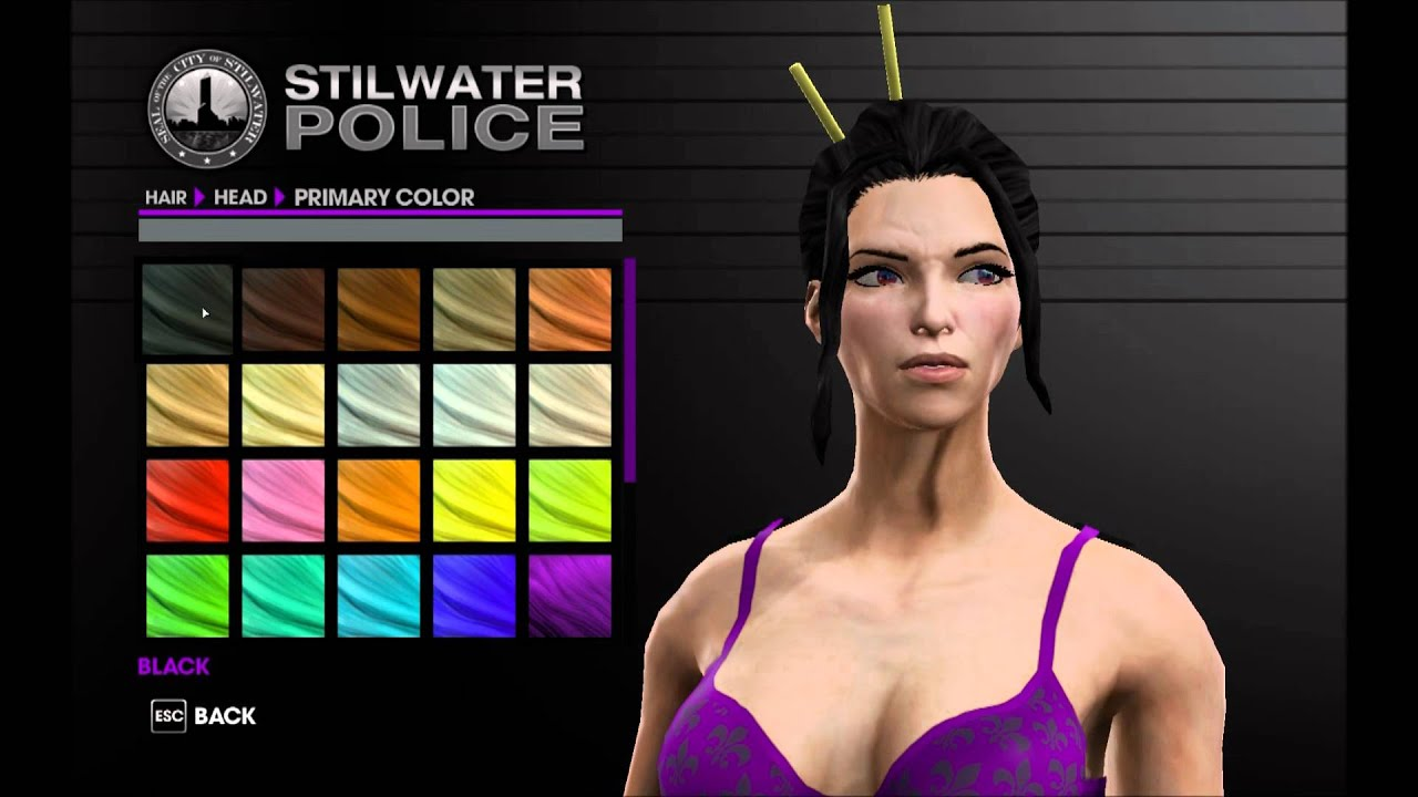 Saints Row The Third & IV will disable character ...