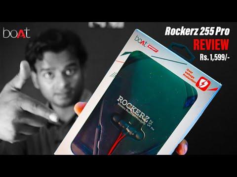 boAt Rockerz 255 Pro Bluetooth Neckband REVIEW | Best Wireless Neckband Under 2000 INR | trickydaya