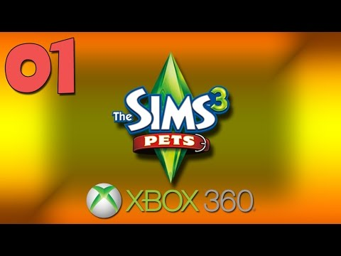 Let's Play: Sims 3 Pets - Episode #01 | Create Your Family! | Xbox 360 |