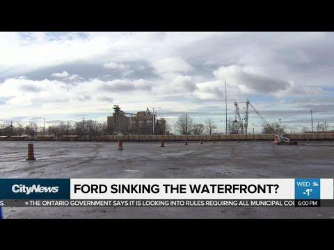 Auditor General takes aim at Waterfront Toronto