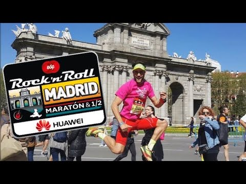 media maraton madrid rock and roll 2020