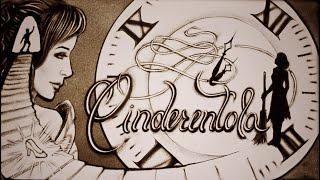 Cinderentola | Favola disegnata con la sabbia