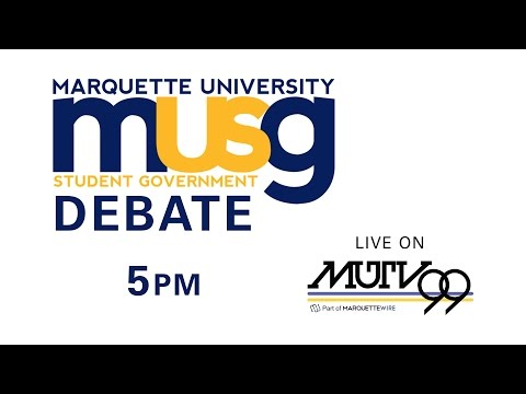 Marquette University Student Government Debate