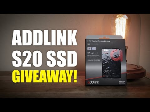 Global SSD Giveaway! | Addlink S20 Review