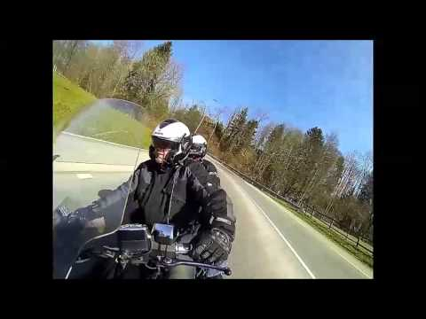 Virée Goldwing 1800 - Ryan & Véro du Goldwing-Club Romandie/Suisse.