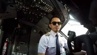 (COCKPIT VIEW) PERSIAPAN PILOT BOEING 737-800 NG SEBELUM TAKEOFF