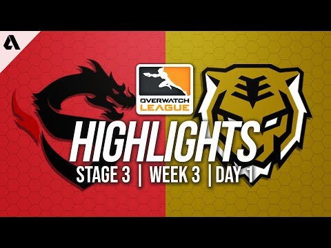 Shanghai Dragons vs Seoul Dynasty | Overwatch League Highlights OWL Stage 3 Week 3 Day 1