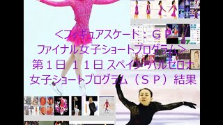 フィギュアスケート:グランプリファイナル 女子ショートプログラム第1...