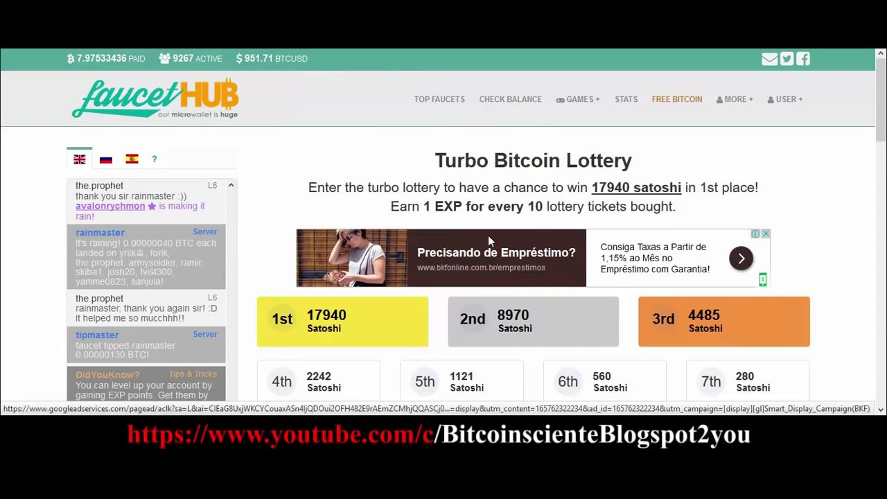 New] New Bitcoin Faucet 2017 MicroWallet 2017 Multibtc Faucet 2017 ...