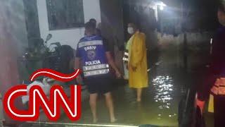 Huracán Eta ya causa estragos en Honduras