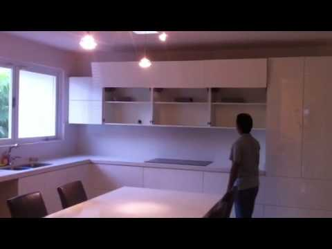 blum aventos hf servo drive by espaciospr youtube. Black Bedroom Furniture Sets. Home Design Ideas