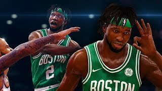 NBA Live 18 The One Career | First Game As A Starter After Being Traded To Boston!