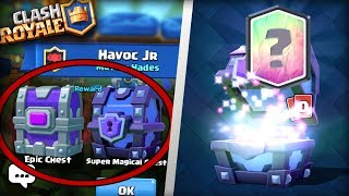 FREE EPIC CHEST DROP AND SUPER MAGICAL CHEST! Clash Royale | LEGENDARY SUPER MAGICAL CHESTS OPENING!