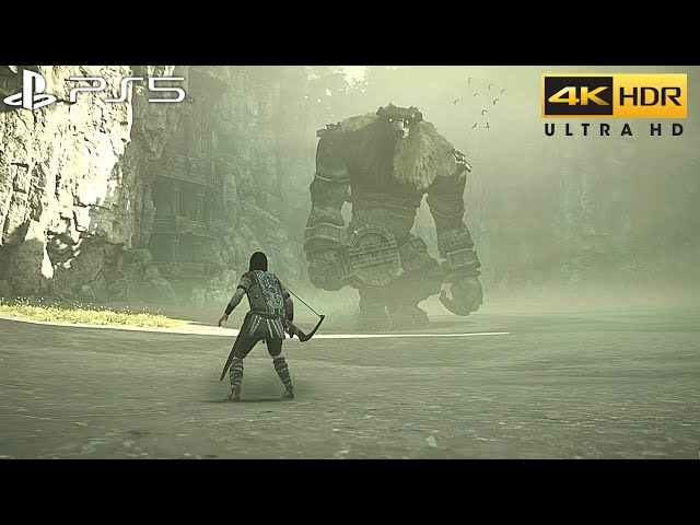 Shadow of the Colossus (PS5) 4K 60FPS HDR Gameplay