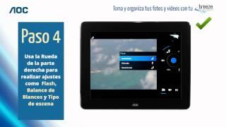 Toma y organiza tus fotos con Breeze Tablet