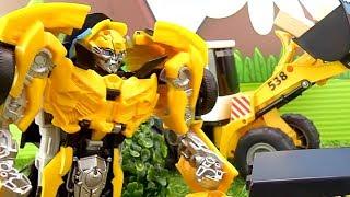 Сигнализация для базы Автоботов - Игры с Трансформерами – Видео для мальчиков.