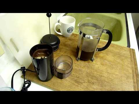 How long to grind coffee beans for french press