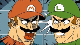 LUIGIKID REACTS TO: MARIO & LUIGI : SUPER ANIME BROTHERS by Mashed