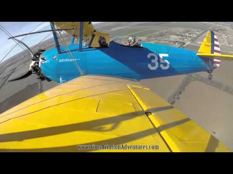 Flying the Stearman Model 75
