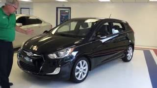 2013 Hyundai Accent Black US106019